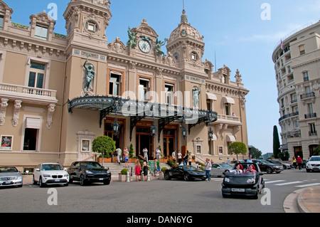 Grand Casino Monte Carlo Principality of Monaco French Riviera Cote D'Azur - Stock Photo