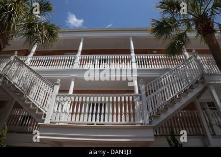 The Elliott House Inn, Queen Street, Charleston, SC, USA - Stock Photo