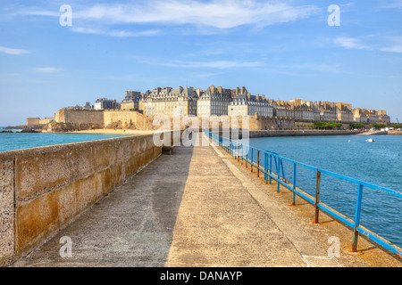 Saint-Malo, Brittany, France - Stock Photo