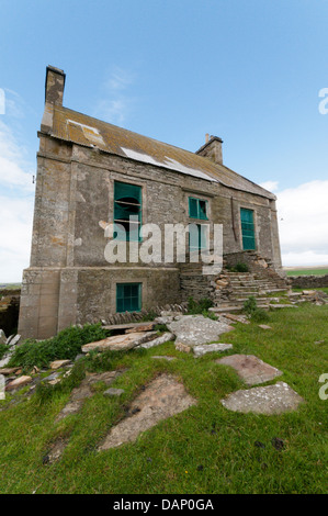 The  Hall of Clestrain on Mainland Orkney, birthplace of John Rae the 19th century Arctic explorer. - Stock Photo