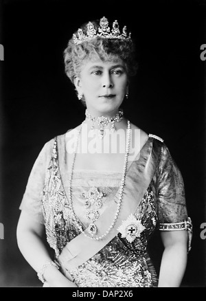 QUEEN MARY OF TECK (1867-1953) wife of King George V - Stock Photo