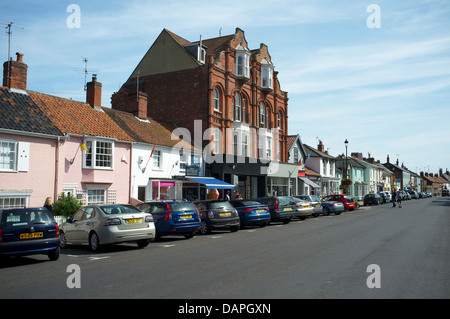 High Street, Aldeburgh Suffolk UK - Stock Photo