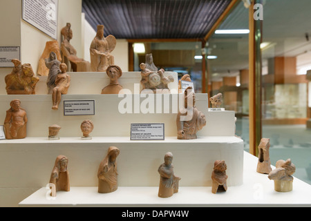 Turkey, Istanbul, Statues in Archaeological Museum - Stock Photo