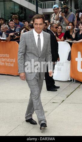 US actor Michael Shannon attends the premiere of 'Machine Gun Preacher' during the Toronto International Film Festival, - Stock Photo