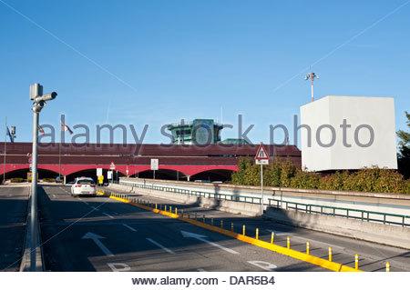 guglielmo marconi airport,bologna,emilia romagna,italia - Stock Photo