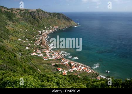 Island of Santa Maria in Azores, Portugal - Stock Photo