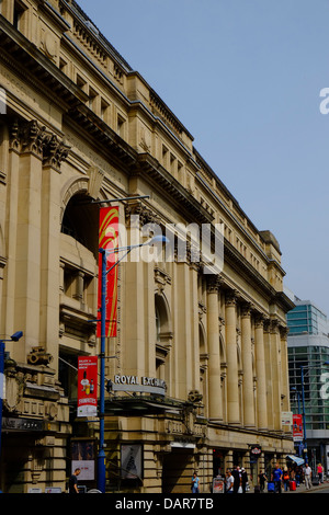 England, Manchester, The royal Exchange Theatre - Stock Photo