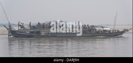 Water, carrier, the,River,Brahmaputra, - Stock Photo