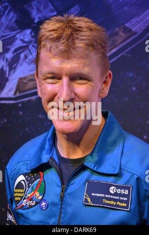 Major Tim Peake, the UK's ESA astronaut, due to fly to the International Space Station in 2015. - Stock Photo