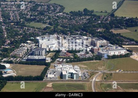 Addenbrooke's Hospital - Stock Photo