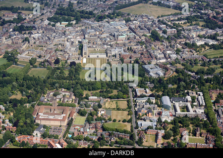 Cambridge from the West - Stock Photo