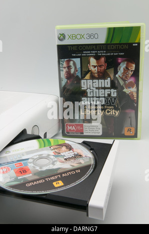 Video game released for the Xbox 360 - Stock Photo