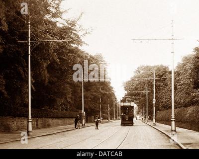 Erdington Sutton Road Birmingham early 1900s - Stock Photo