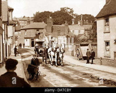 Bishop's Stortford South Street early 1900s - Stock Photo