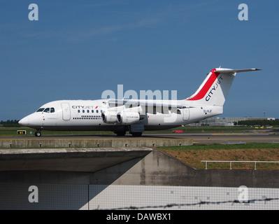 EI-RJF Cityjet British Aerospace Avro RJ85 - Stock Photo