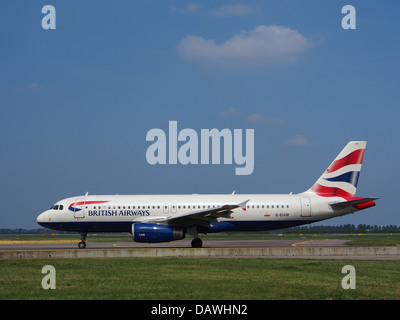 G-EUUB British Airways Airbus A320 3 - Stock Photo
