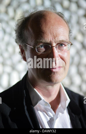 Chief dramaturg of the Burgtheatre in Vienna, Joachim Lux, is pictured in Berlin, Germany, Saturday, 12 May 2007. - Stock Photo