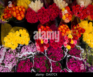 mixed bouquet of flowers - Stock Photo