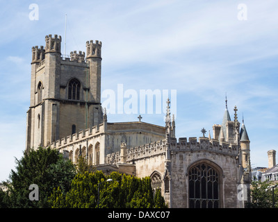 The Church of St Mary the Great in Cambridge city centre - Stock Photo