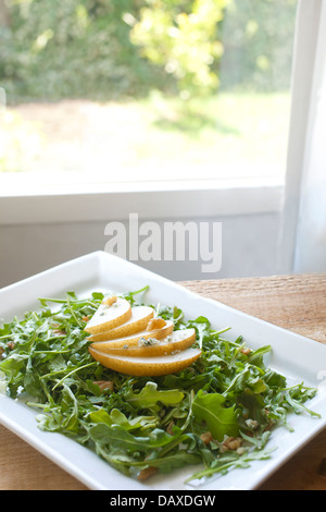 Pear salad - Stock Photo