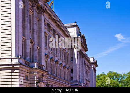 Buckingham Palace London British Monarch Westminster Stock