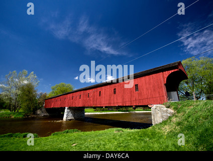 Montrose covered bridge (Kissing Bridge) at West Montrose ...
