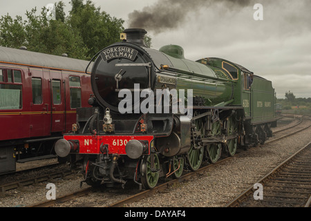 Mayflower at Dereham Station. - Stock Photo