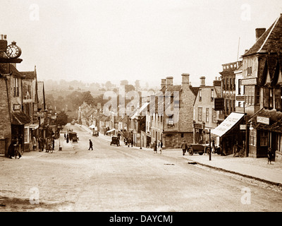 Burford probably 1920s - Stock Photo