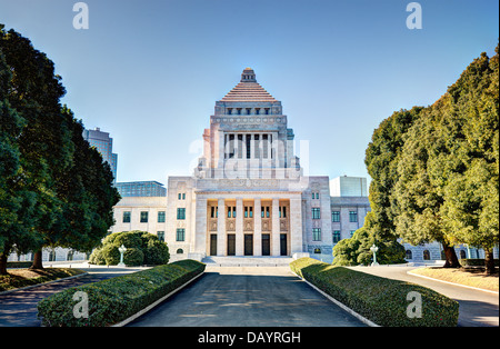 The National Diet House of Japan. - Stock Photo