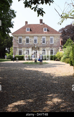 Arundells the former home of Prime Minister Sir Edward Heath in Salisbury, Wiltshire, England, UK - Stock Photo