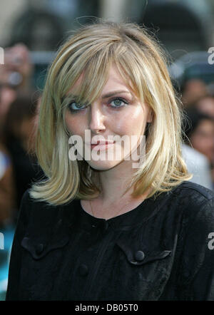 British model and actress Sophie Dahl arrives for the UK premiere of 'Harry Potter and the Order of the Phoenix' - Stock Photo