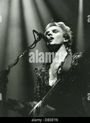 THE POLICE  UK rock group with Sting in December 1983. Photo D Hartas - Stock Photo