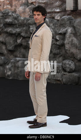 London, UK, 21st July 2013. James Frain attends the premiere of 'The Lone Ranger' at Odeon Leicester Square - Stock Photo