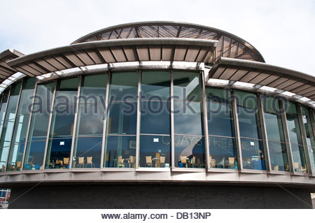 The Lowry cafe, Salford Quays, Greater Manchester, UK - Stock Photo