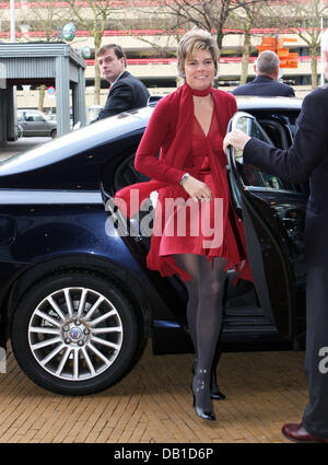 Princess Laurentien of the Netherlands attends the 75th annivarsary of the association 'Taal Genootschap' in Utrecht, - Stock Photo