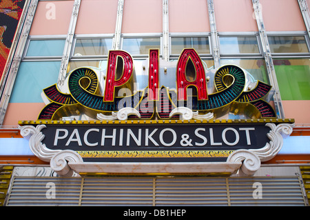 Pachinko parlor, Ueno, Tokyo, Kanto, Japan. - Stock Photo
