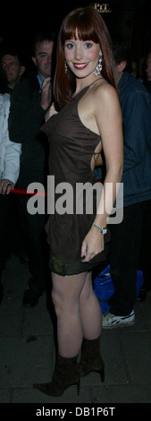 London, UK. 29th Sept, 2003. Amy Nuttall at the inside soap awards London, UK. - Stock Photo