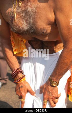 London, UK. 21st July, 2013. Ghanshyam Mahotsav Silver Jubilee Festival, Shree Swaminarayan Temple, Willesden Lane, - Stock Photo