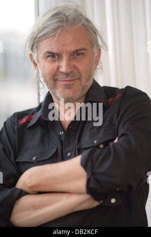Austrian director Michael Glawogger is seen during the Toronto International Film Festival, TIFF, at Hotel Four - Stock Photo