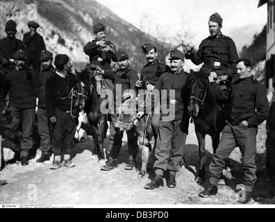 military, Austrian soldiers in Bosnia, before 1914, Additional-Rights-Clearences-NA - Stock Photo