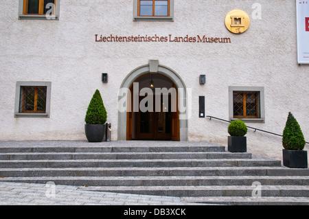 The National Museum in Liechtenstein,  Vaduz, Liechtenstein, Principality of Liechtenstein, Central Europe - Stock Photo