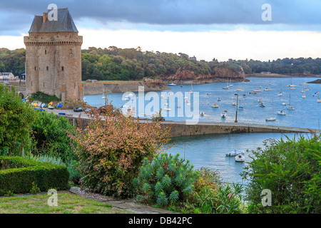 Tour Solidor near Saint Malo, Brittany, France - Stock Photo