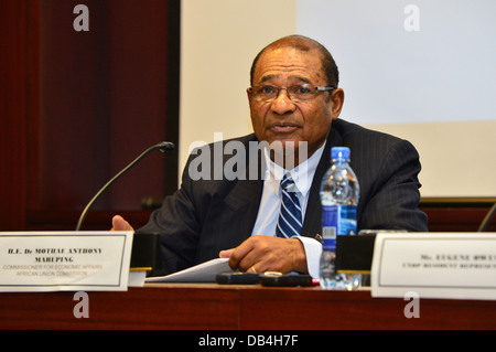 Dr Mothae Anthony Maruping, Commissioner for Economic Affairs, African Union Commission (AU), Addis Ababa, Ethiopia - Stock Photo