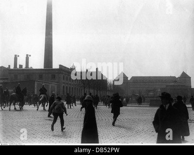 politics, revolutions, Beer Hall Putsch 1923, trial at People's Court Munich 1, after the proclamation of sentence, - Stock Photo