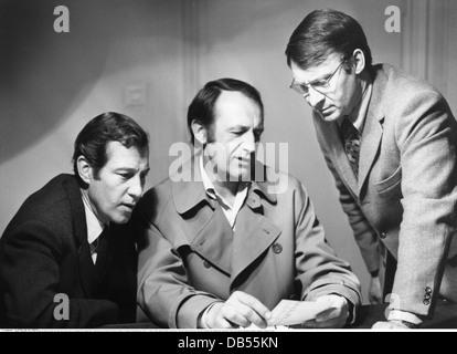 TV series, 'Tatort', episode 'Der Mann aus Zimmer 22' , DEU 1974, director: Heinz Schirk, Scene with: Alexander - Stock Photo
