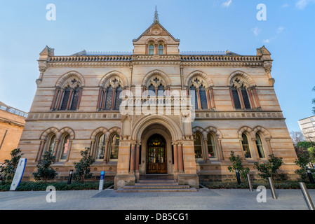 The University of Adelaide's Mitchell building on the North Terrace campus in downtown Adelaide. - Stock Photo