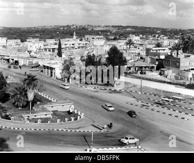 geography / travel, Palestine, Gaza, city views / cityscapes, view of parts of the city, 1970, Additional-Rights - Stock Photo