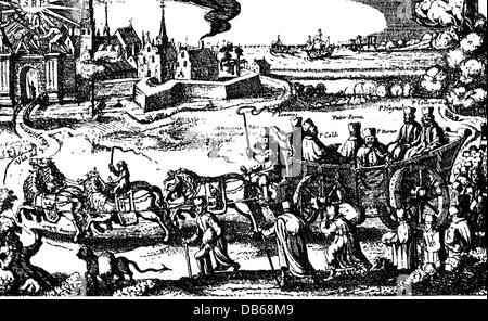 religion, Christianity, clergy, religious orders, Jesuits (Societas Jesu), surpression, 1773, Artist's Copyright - Stock Photo