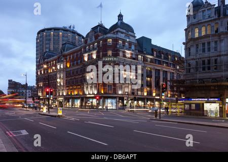 Harvey Nichols Department store,Knitsbridge,London,England - Stock Photo