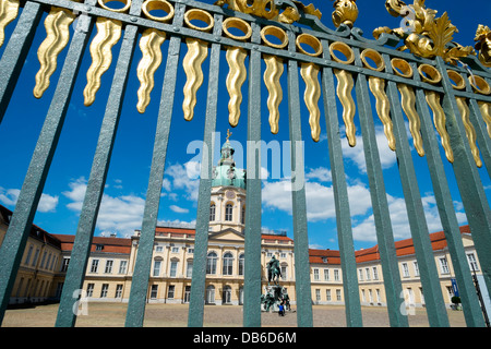 Schloss Charlottenburg in Berlin Germany - Stock Photo